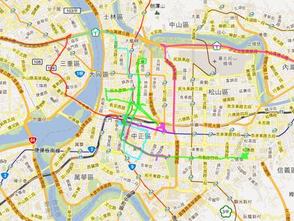 kiai_tour_2011tw_gpsmap.jpg